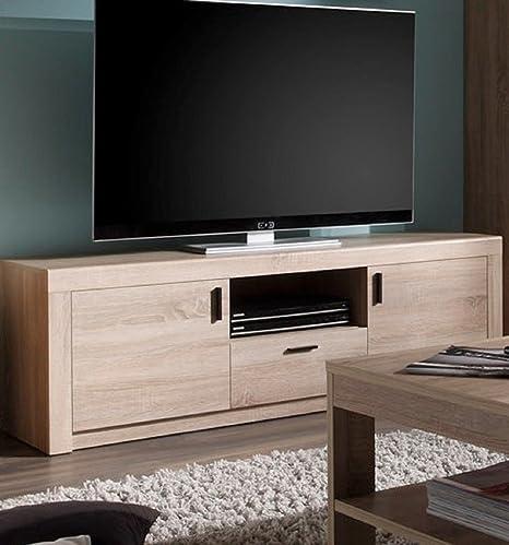 Dreams4Home TV-armario de Laso - armario, TV-Konsole, TV-mueble para televisor, TV-aparador, TV-cómoda,