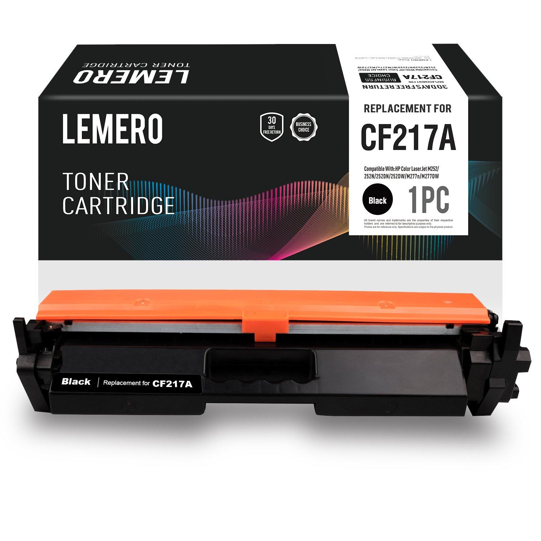 LEMERO Kompatibel HP 17A CF217A Tonerkartusche [mit Chip] für HP