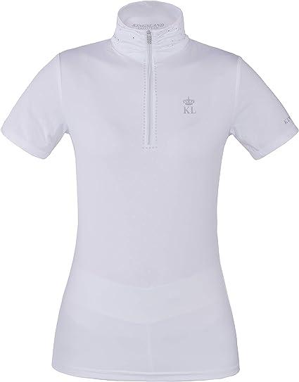 Kingsland Kurzarm-Turnierhemd f/ür Herren KL/_BORNOS Turniershirt Show Shirt