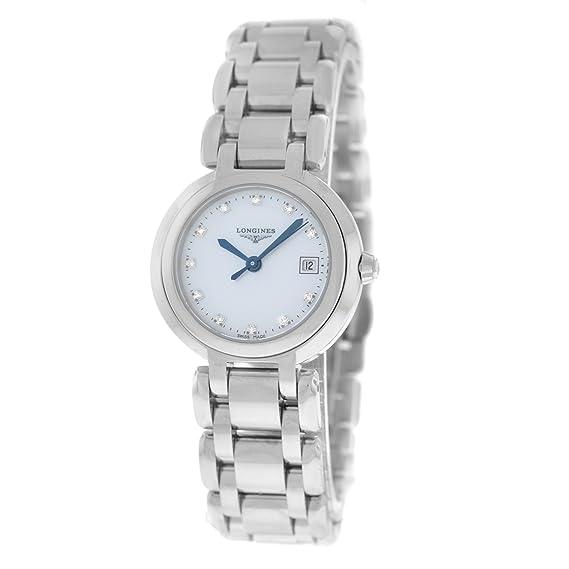 Longines Prima Luna Cuarzo Mujer Reloj L81104876 (Certificado) de segunda mano: Longines: Amazon.es: Relojes