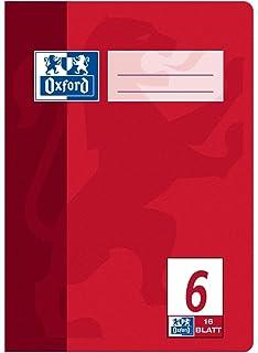 Oxford - Bloc de notas (A5, 16 hojas, 15 unidades)