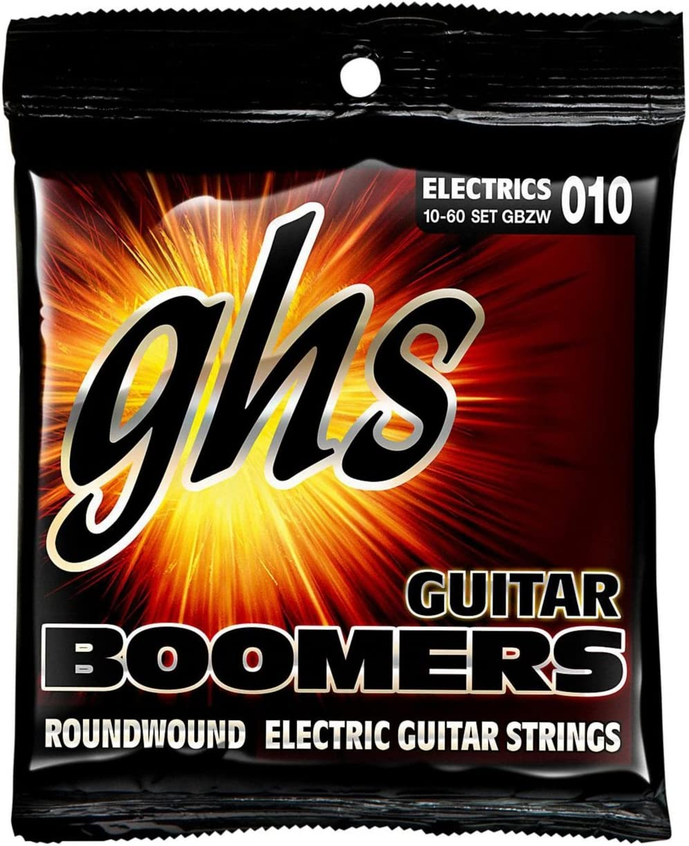 ghs GBZW - Juego de cuerdas para guitarra eléctrica, 010-060