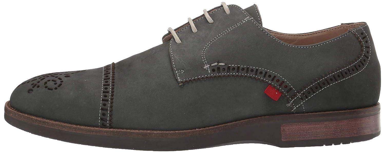Marc Joseph New York Mens Genuine Leather Fulton Street Oxford grey nubuck 10.5 M US