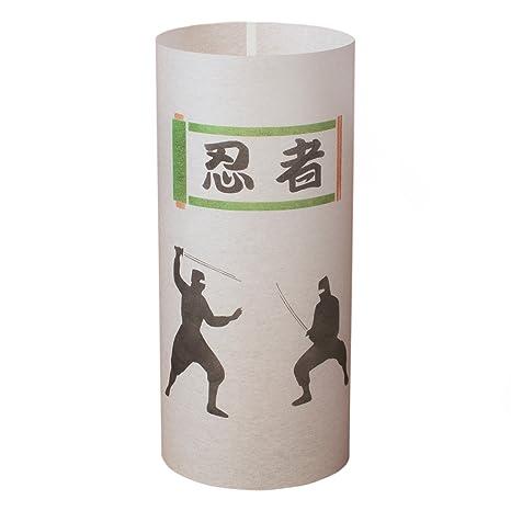 Amazon.com: Ninja – Lámpara japonesa hecha a mano – japonés ...