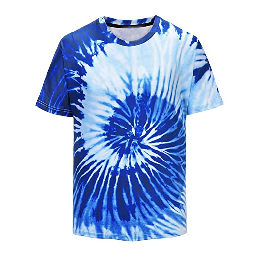 Amazon.com: refulgence Colorful Tie-Dye T-Shirts in Colors. Sizes: S-4XL Youth & Adult Tie Dye T-Shirt: Clothing