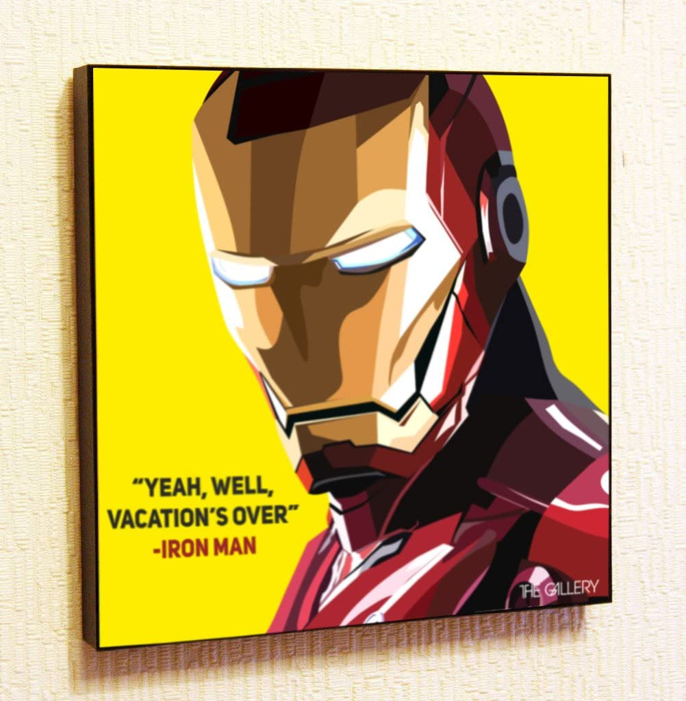 Iron Man Tony Stark  quote dictionary page art book gift picture comic marvel
