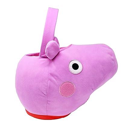 Amazon.com: Peppa Pig Jumbo - Cesta de felpa: Toys & Games