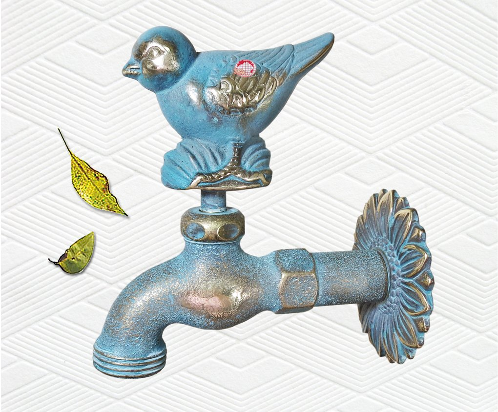 Amazon.com : Taiwan Brass Bird Garden Outdoor Faucet : Outdoor ...