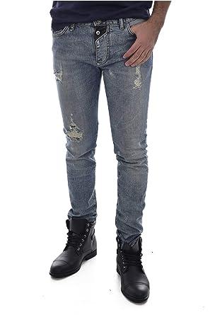 2adf3a39d1b Philipp Plein Jean Slim Stretch Mdt0168 Always  Amazon.fr  Vêtements et  accessoires