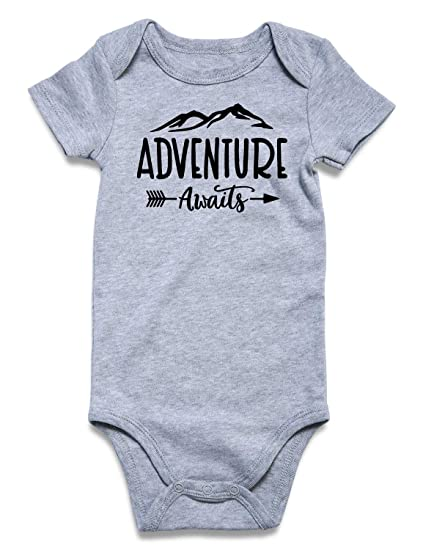 db9db4d15200b Cutemefy Baby Boys Girls Bodysuit Funny Infant Romper Jumpsuit Short and  Long Sleeve Outfit Summer Clothes (Size 0-18 Months)