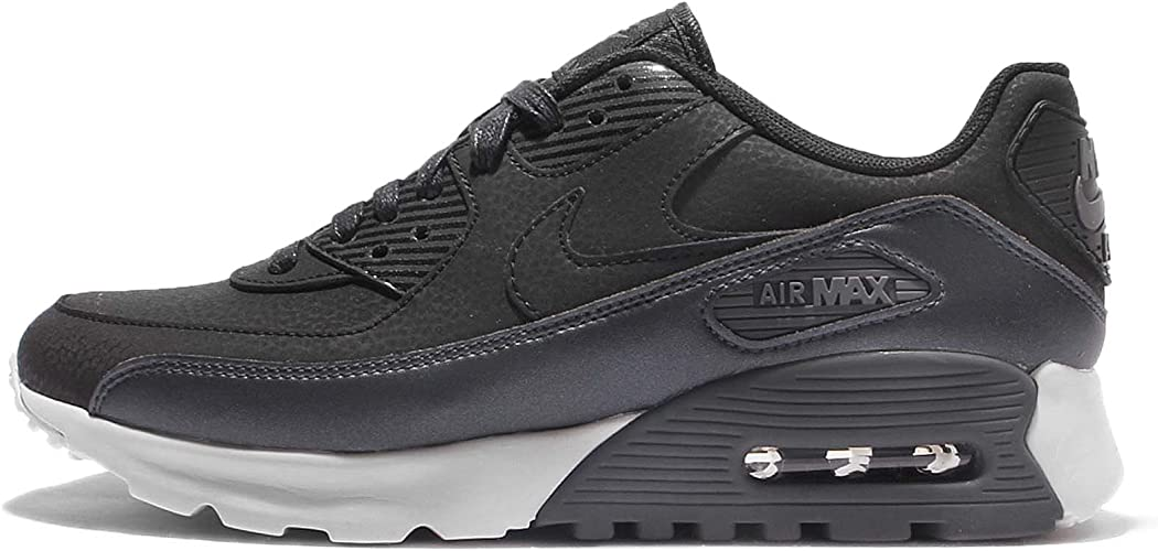 NIKE Women's W Air Max 90 Ultra SE, DEEP PewterDEEP Pewter White, 12 M US