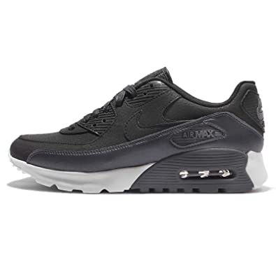 06b85d6fc1 Amazon.com | NIKE Women's W Air Max 90 Ultra SE, DEEP Pewter/DEEP  Pewter-White, 12 M US | Road Running