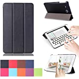 Galaxy Tab A 7.0 Case, [Multi-angle Stand] Ultra Slim Lightweight Folding PU Case Stand Cover for Samsung Galaxy Tab A 7.0 Tablet 2016 Release / SM-T280 / SM-T285