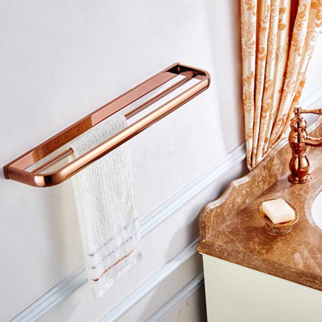 Badezimmer Handtuchhalter Kupfer Regal Rose Gold Dusche