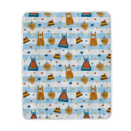 Amazon.com  Kitchen Apron Cute Throw Blanket for Couch Bed Living ... 56eb47300a