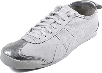 size 40 6f695 139dc Onitsuka Tiger by Asics Unisex Mexico 66 Silver/White 11.5 ...