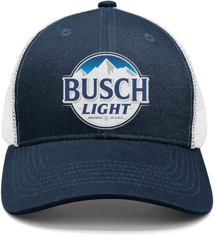 Men's Sun Hats Bus-ch Light Latte Beer Pattern Fisherman Vintage Caps
