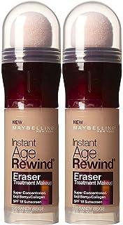 MAYBELLINE Instant Age Rewind Eraser Treatment Makeup Creamy Beige ...