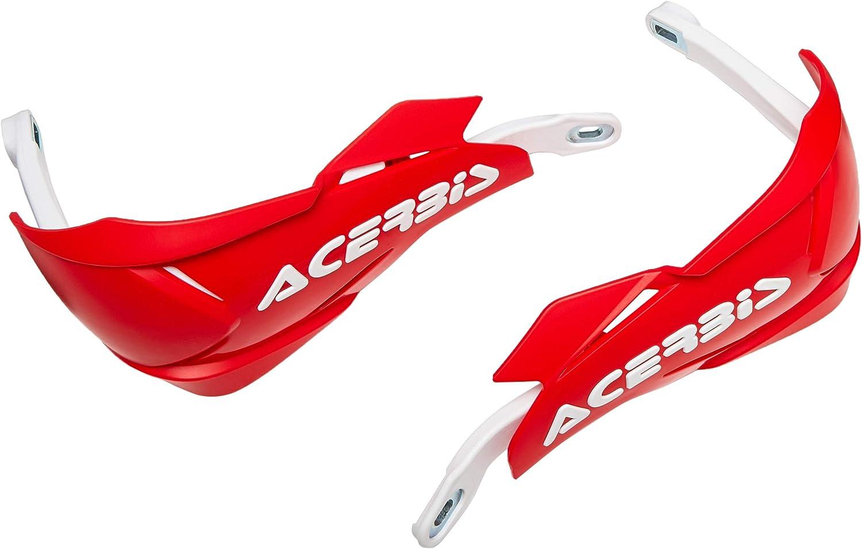 Acerbis 0022397 343 Handschutz X Factory Rot Weiß Auto