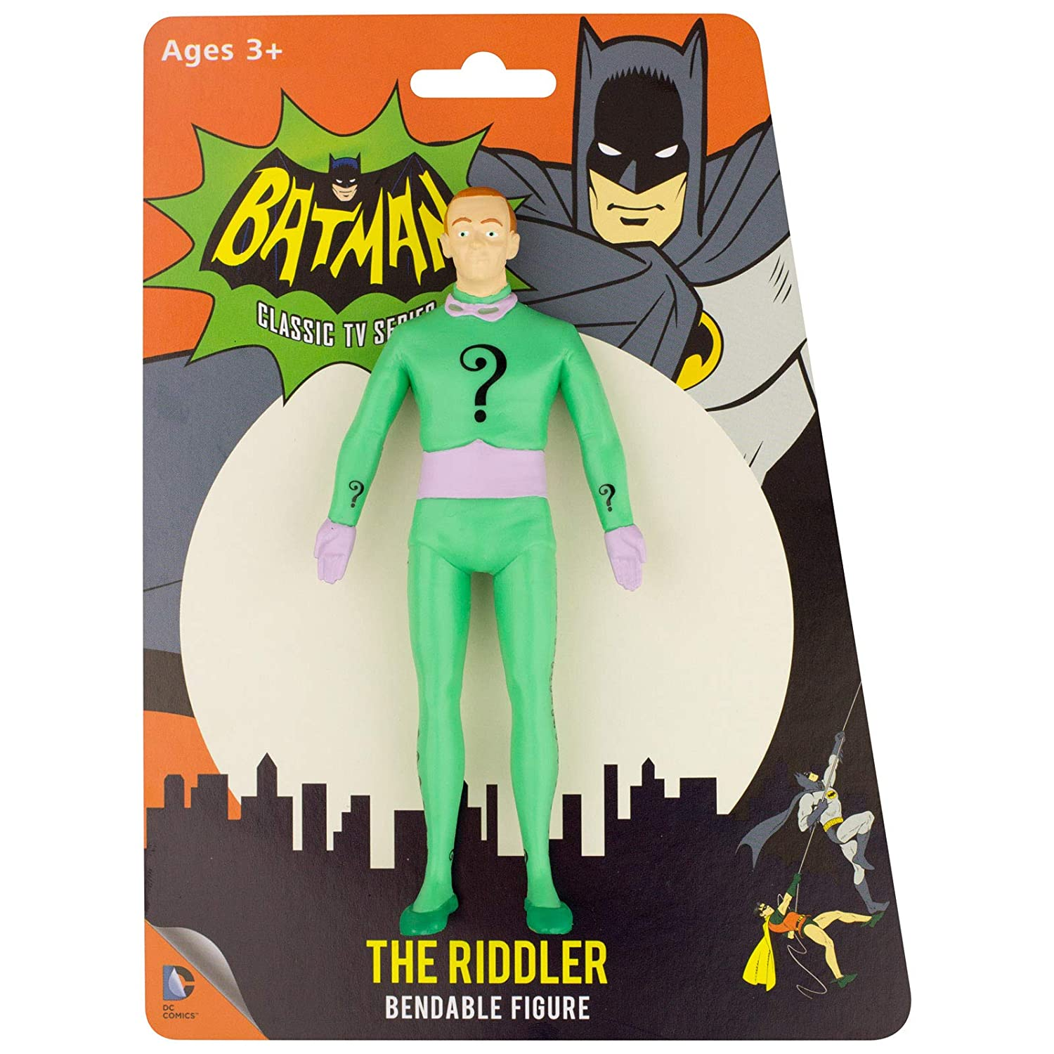 NJ Croce Frank Gorshin As The Riddler Action Figure NJ Croce Toys DC 3926 Accessory Toys /& Games