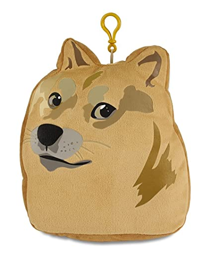 Amazoncom Ultra Pro Doge Plush Pillow Zippered Pouch Toys Games