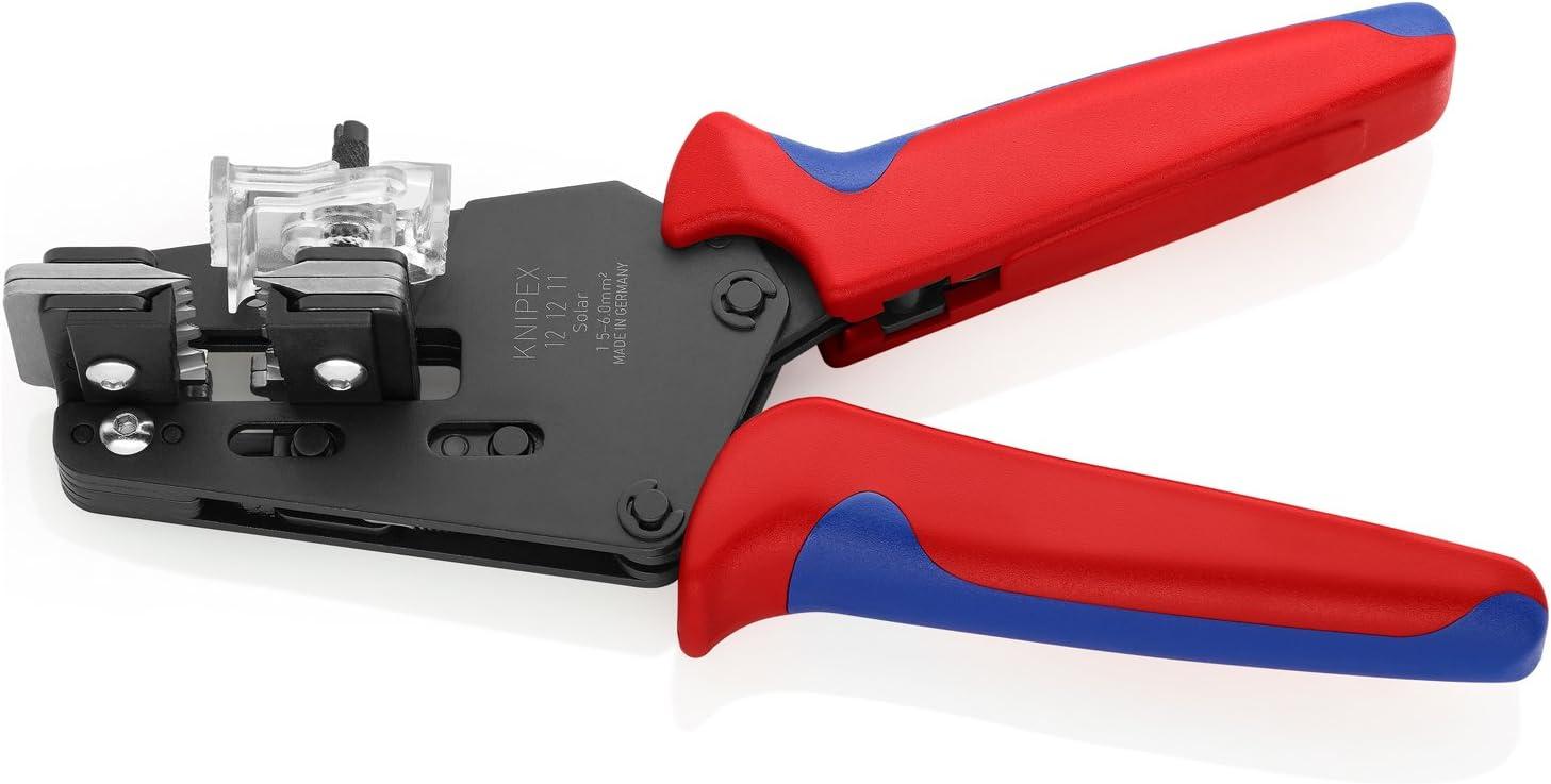 KNIPEX Tools 12 12 06 Precision Insulation Wire Stripper 7.5 Inch