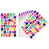 eBoot Colorful Letter Stickers Alphabet Stickers Cardstock Stickers, A to Z, 10 Sheets