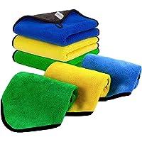 Oakland Car Towel, Microfiber Cleaning Cloth, 800gsm, 3Pack 40x30cm Microfiber Cleaning Towel, Car Detailing Towel…