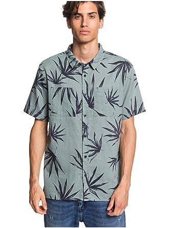 Quiksilver Deli Palm - Camisa de Manga Corta para Hombre EQYWT03957: Amazon.es: Ropa y accesorios