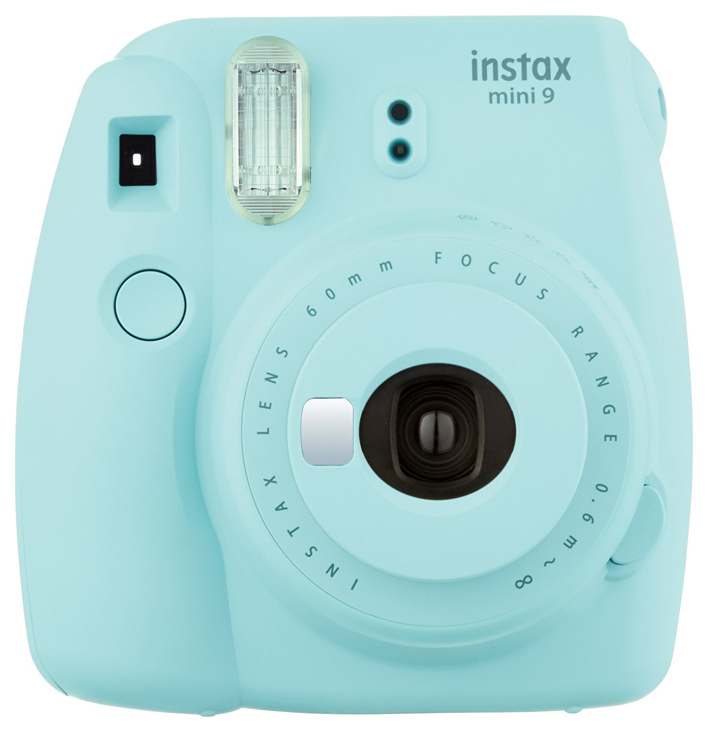 Fuji Instax Mini 9 + Carry Case + Rechargeable AA Batteries & Charger + Instax Mini Film (40 Sheets) (Ice Blue) by K&M (Image #2)