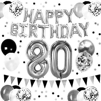Amazon.com: Doyolla - Accesorios para fiesta de 80 ...