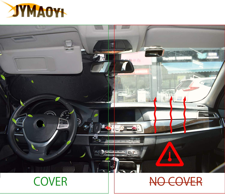 JYMAOYI for Nissan Sunshade for GTR Windshield Visor Cover Car Window Sun Shade UV Protect Car Window Film for Nissan Altima