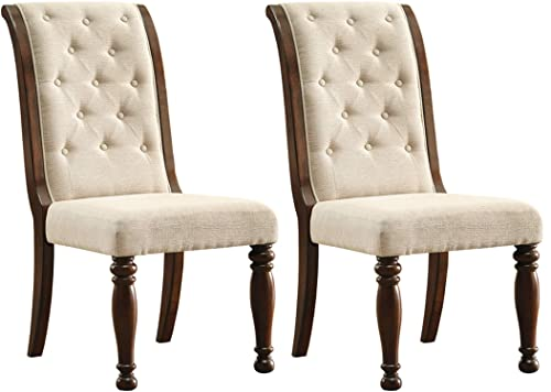 Signature Design by Ashley – Porter Dining Chairs – Set of 2 – Brown