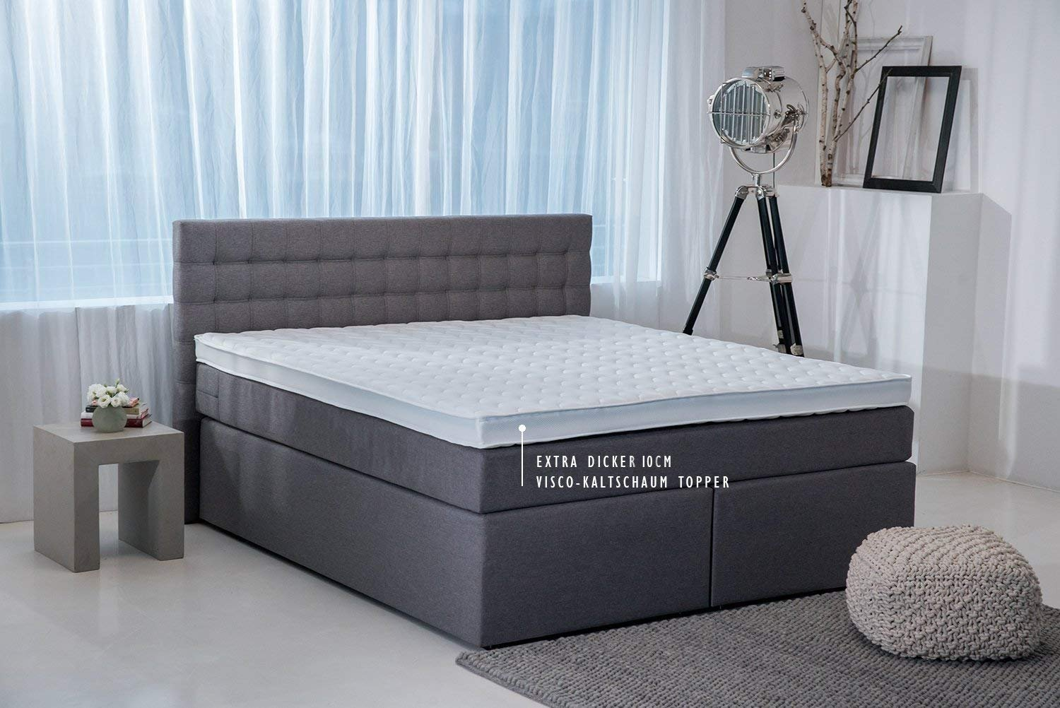 Visco-Topper extra stark Boxspringbett King