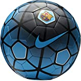 Nike Larjonna FCB (Blue/Black) Replica Football, Size-5