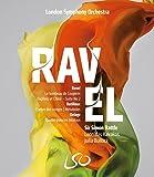 Ravel: Daphnis & Chloé Suite 2, Le Tombeau de Couperin; Dutilleux: L'Arbre des Songes, Métaboles; Delage: Quatre Poèmes Hindous (London Symphony Orchestra/Sir Simon Rattle) 2 Blu-ray/DVD Doubleplay