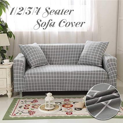 Amazing Amazon Com Protector Sofa Grey Grid All Inclusive Ibusinesslaw Wood Chair Design Ideas Ibusinesslaworg