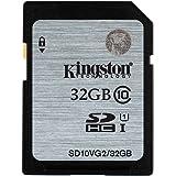 Kingston 金士顿 SD10VG2/32GB 80MB/s SD Class10 UHS-I高速存储卡