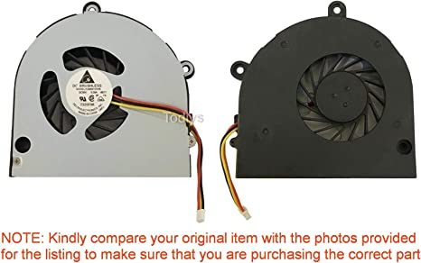 For Toshiba Satellite A665-S5199X CPU Fan