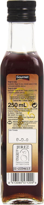 Vinagre gourmet jerez botella 250ml: Amazon.es: Alimentación y bebidas