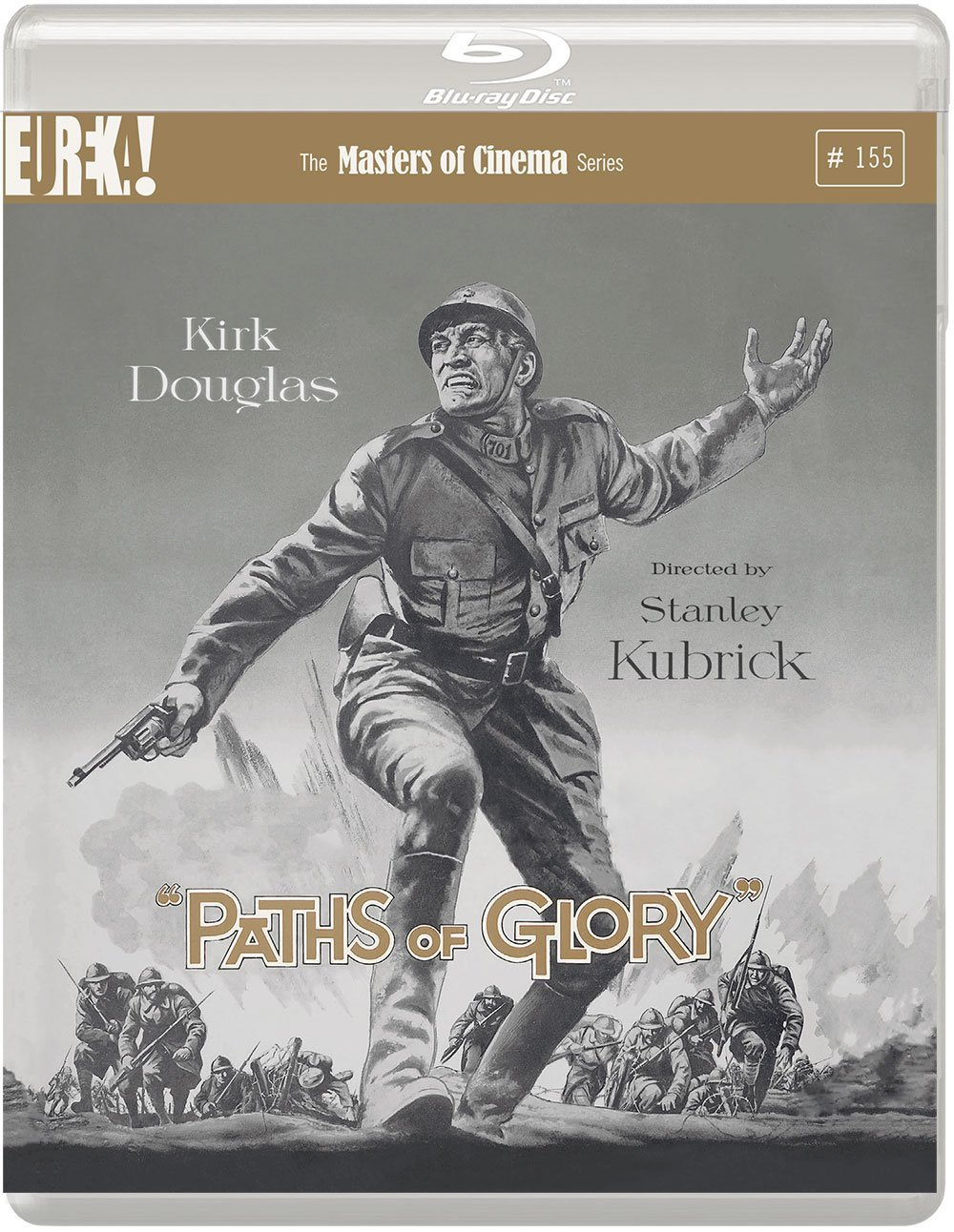 Paths Of Glory Blu Ray - released by Eureka Entertainment / Masters Of Cinema