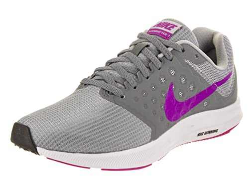 Nike Women s Downshifter 7 Cool Grey Hyper Violet Running Shoe 9 Women US 22c5cfb8230