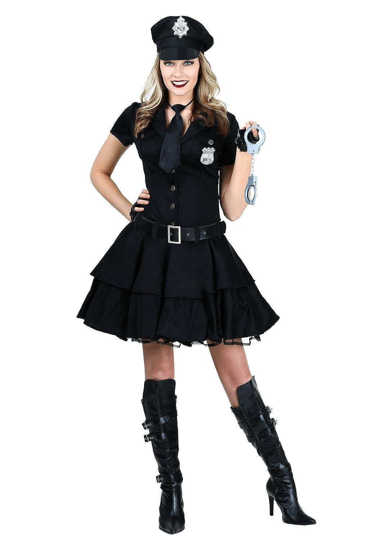 Women's Playful Police Fancy dress costume Medium
