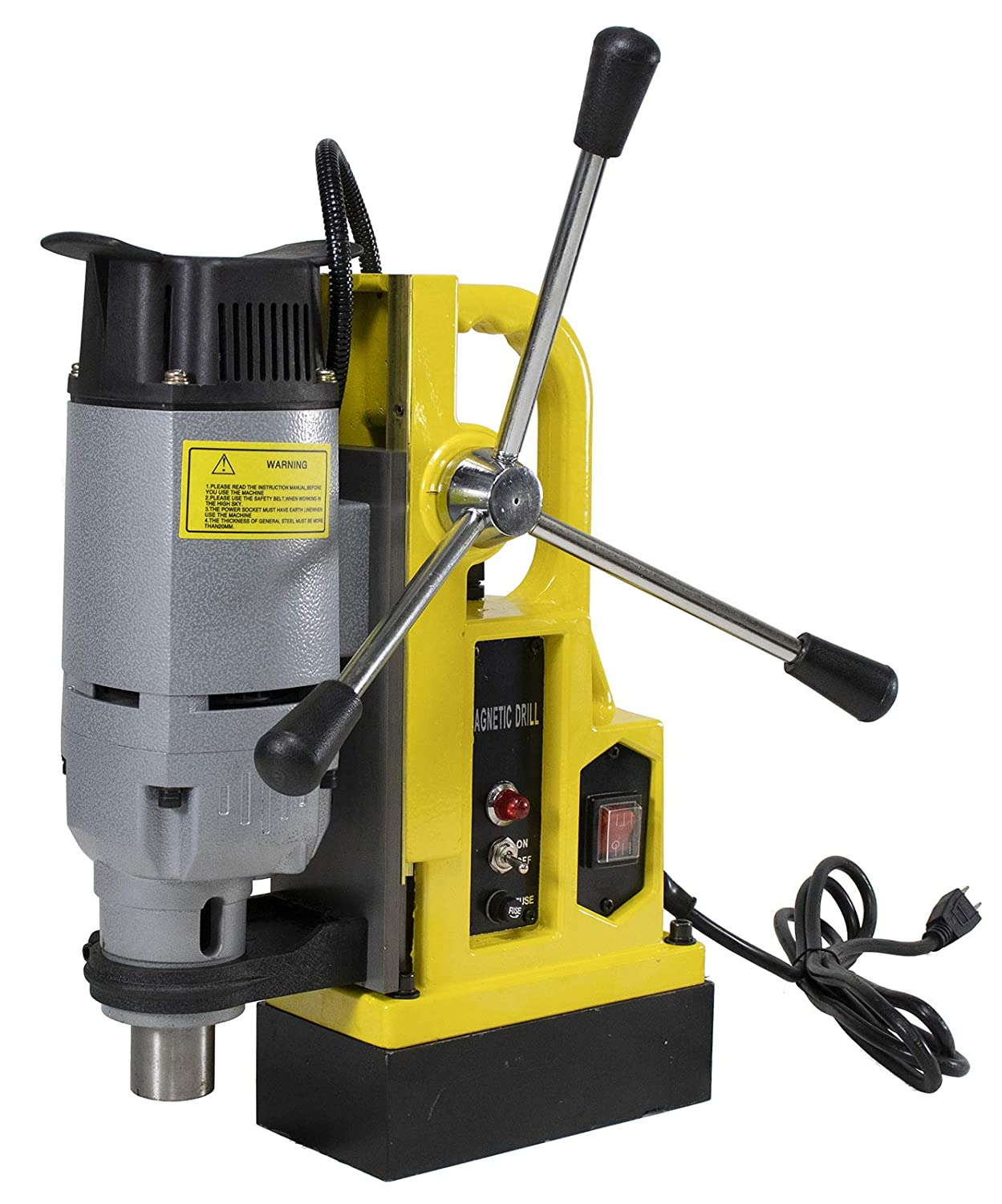 Steel Dragon Tools MD25 Magnetic Drill Press with 1in. Boring Diameter 3372 lb Magnetic Force