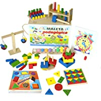 Maleta Pedagógica Carlu Brinquedos