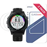 Garmin Forerunner 935 Screen Protector,Wimaha 2 Pack Forerunner 935 Tempered Glass Screen Protector for Garmin Forerunner 935 in 9H Hardness Tempered Glass Full Coverage Screen Protector