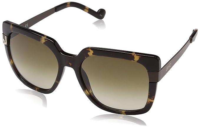 Liu Jo Lj669Sr 215 57 Gafas de Sol, Tortoise, Mujer: Amazon ...