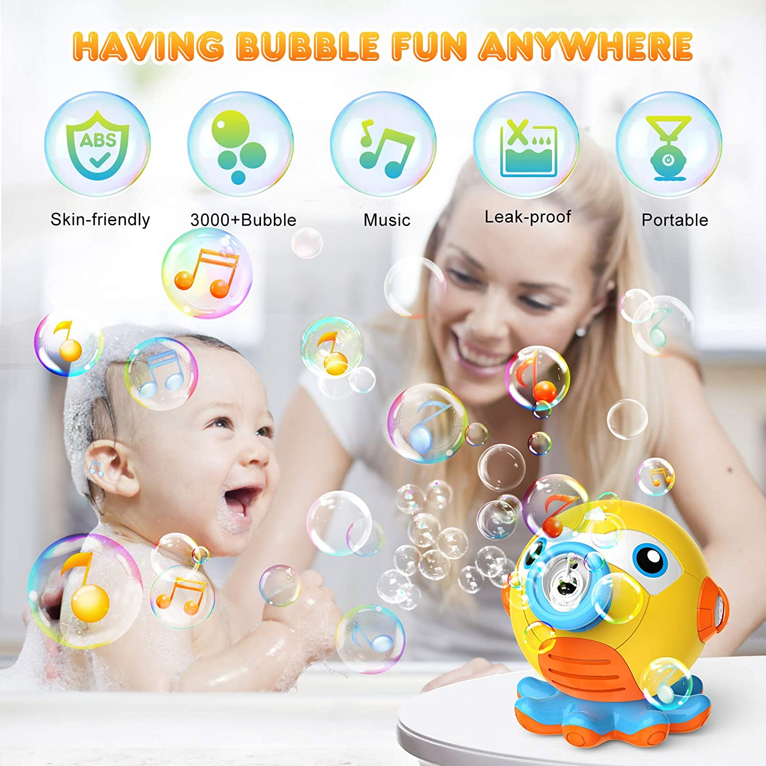 50% Off Coupon – Bubble Machine Blower for Kids