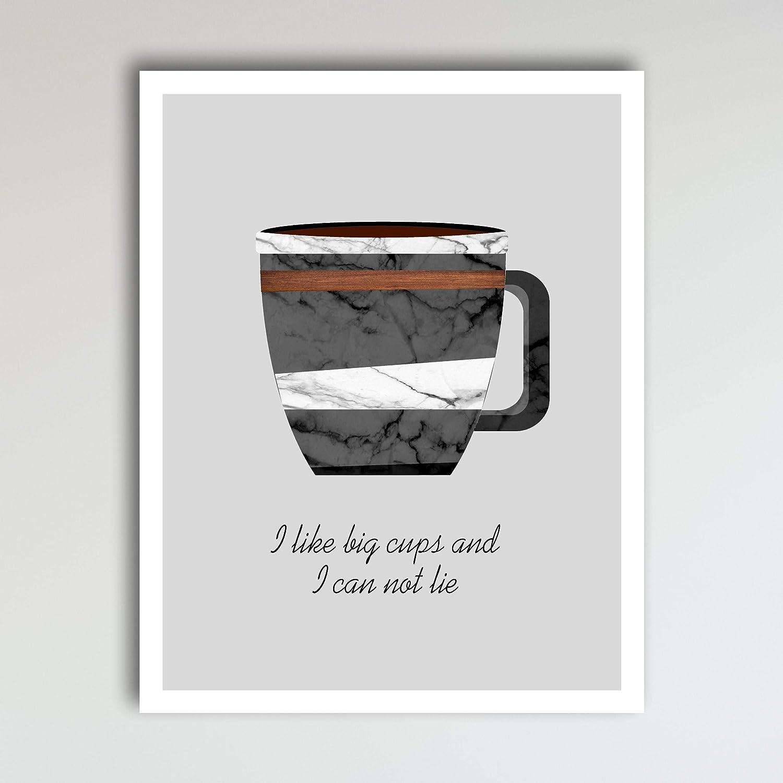 Coffee Art Print Home Decor Wall Art Poster