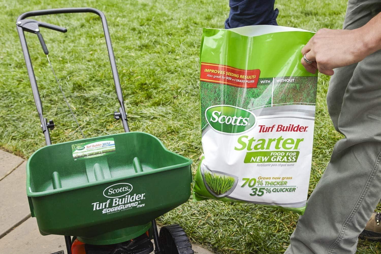 best fertilizer for new grass